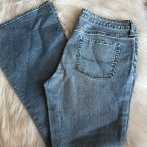 Bullhead Skinny Flare Light Denim Jeans Sz 13